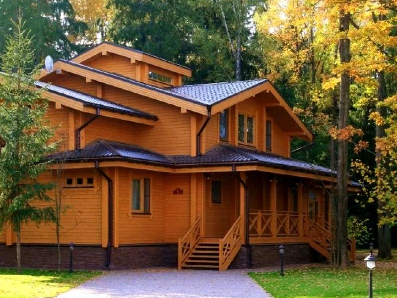 Правильная отделка деревянного дома