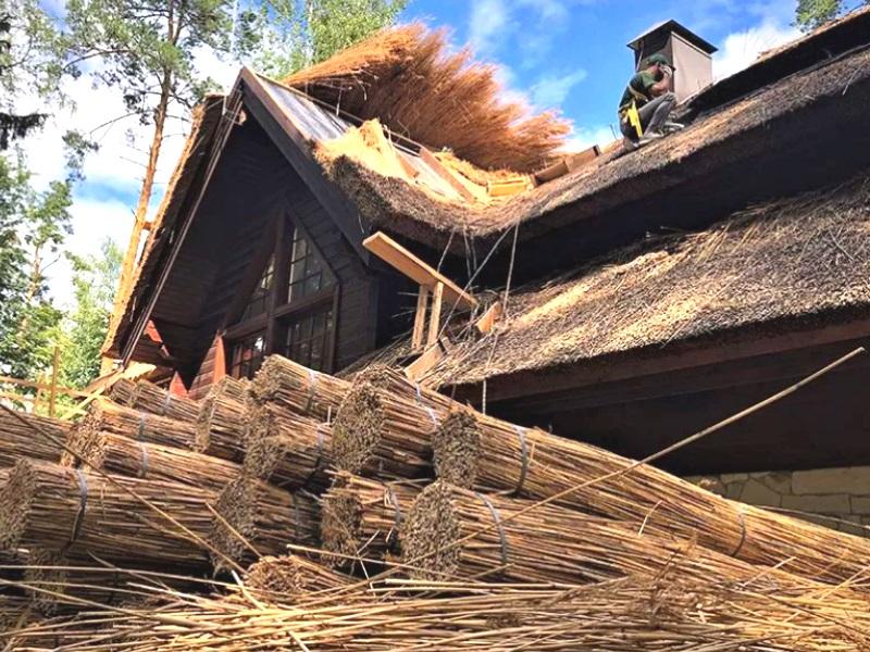Монтаж и укладка крыша