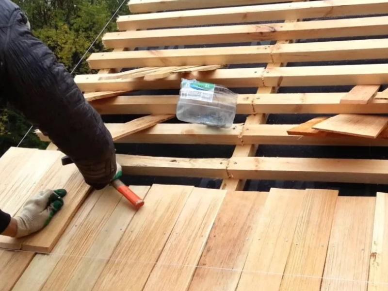 Экологически чистый деревянный гонт