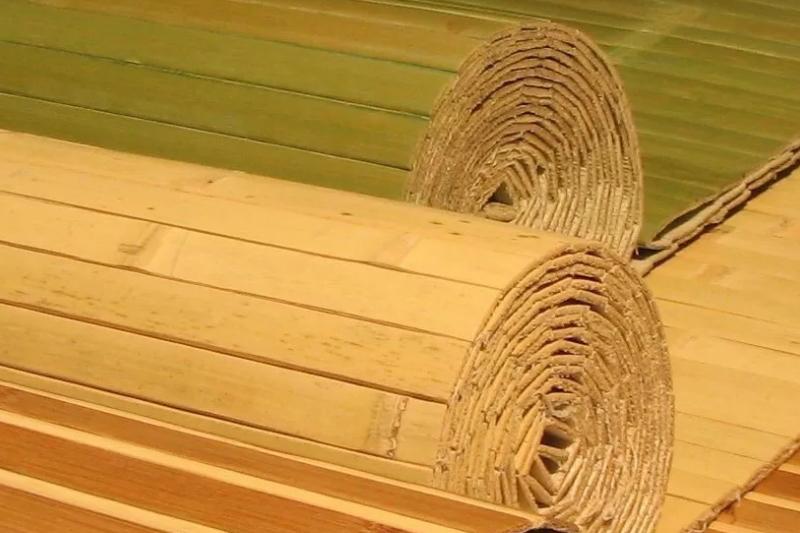 Бамбуковые обои для интерьера квартиры