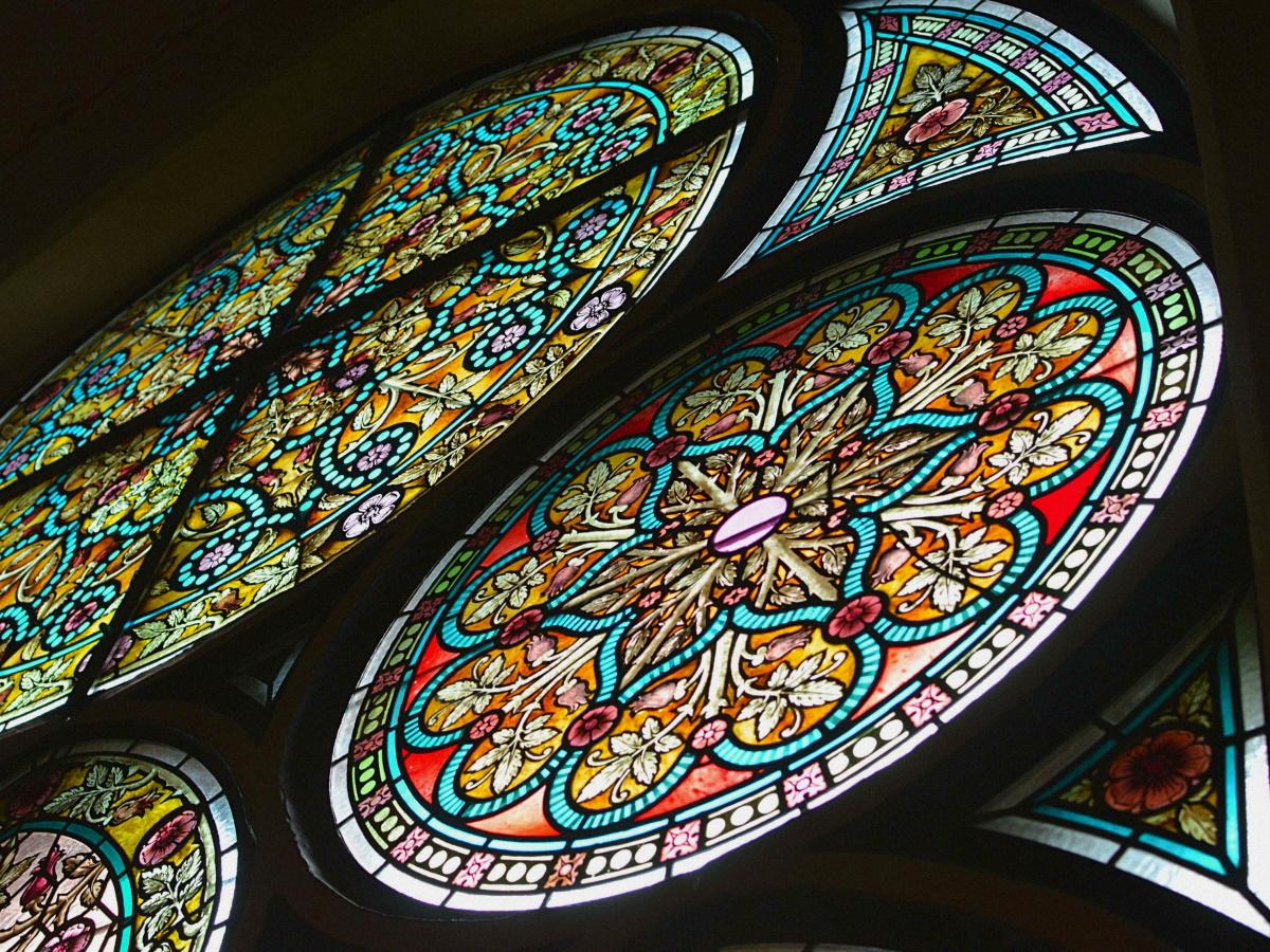 Витражные стекла
